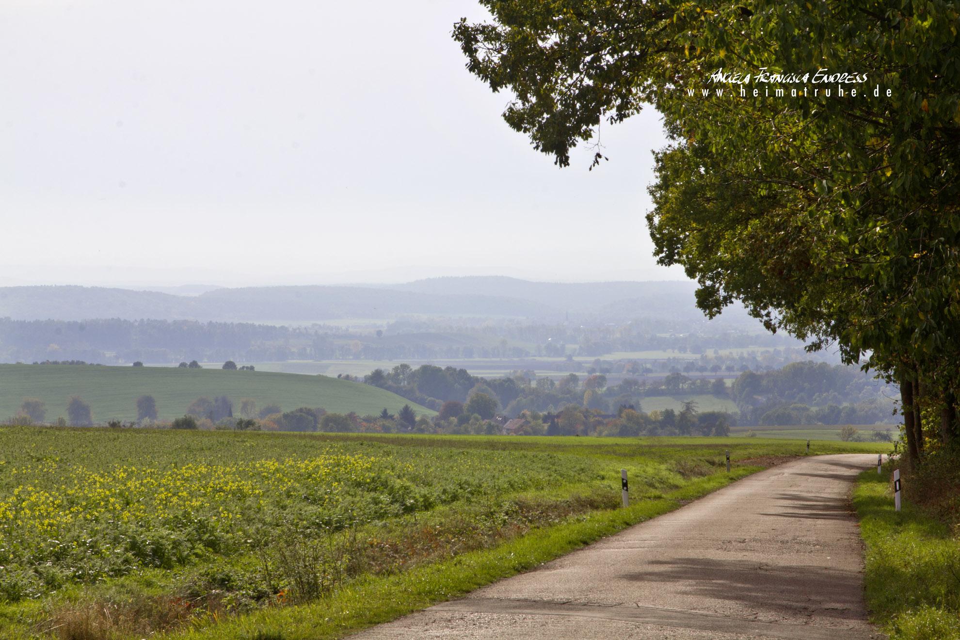 Lange Berge Landschaft, Oettingshausen,
