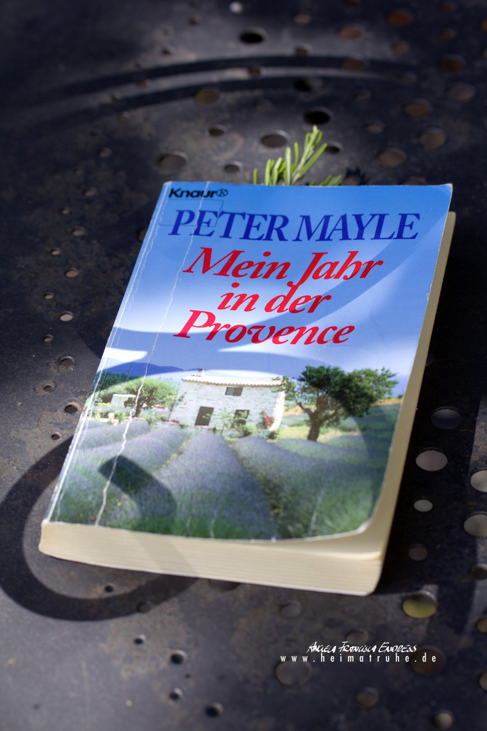 BUCH PETER MAYLE MEIN JAHR IN DER PROVENCE