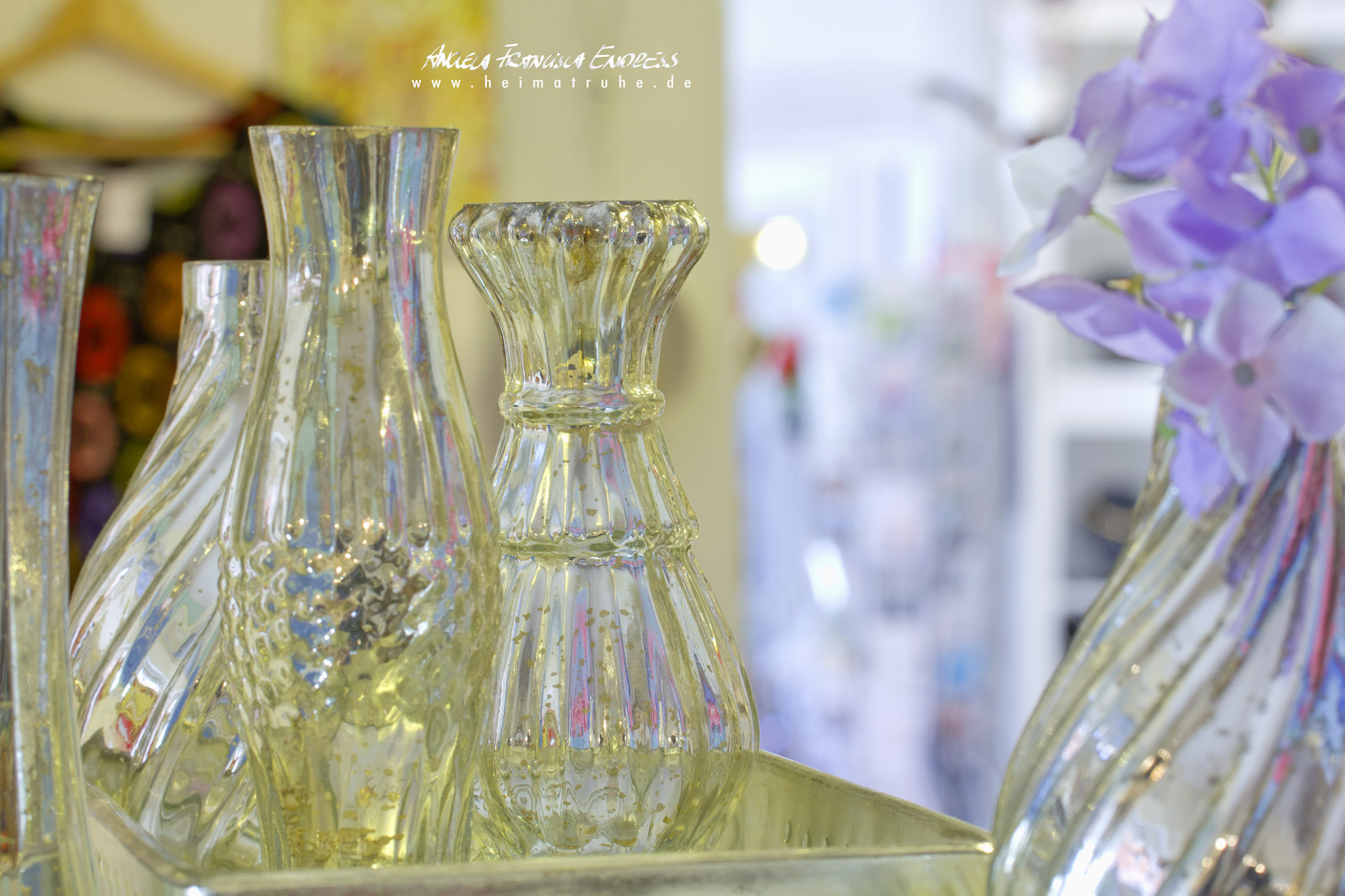 Glasflaschen etc Laden