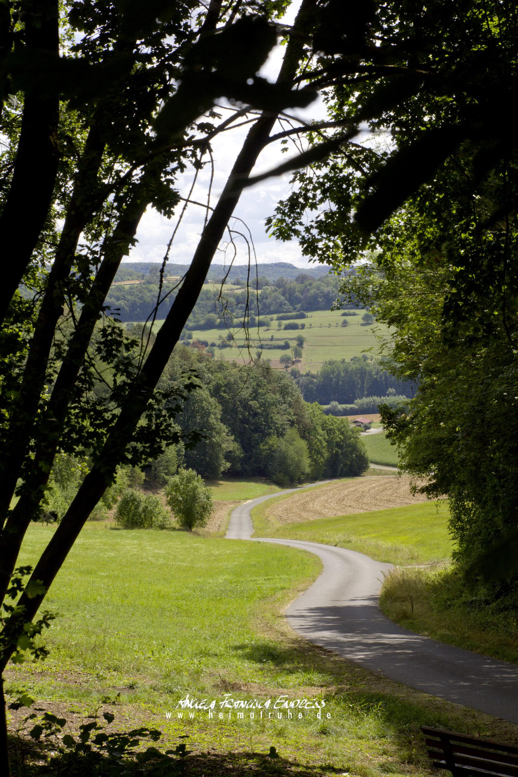 Weg nach unten ins Tal